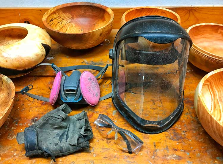 Essential Wood Turning Bowl Safety Equipment