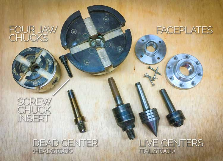 Lathe Attachment Accessories
