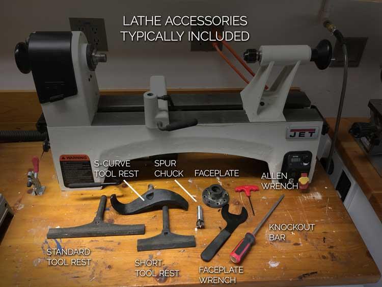 Lathe Standard Accessories
