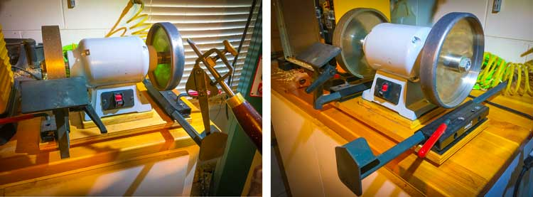 Turning Tool Oneway Sharpening Station Grinder
