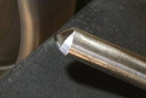 Micro Bevel Gouge Tip Detail