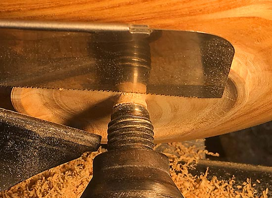 Tenon Removal Pull Saw Detail