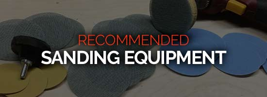 Recommended Woodturing Sanding Equipment Resource Page