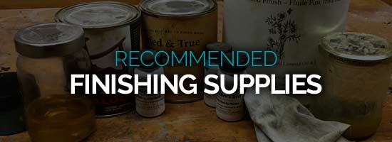 Recommended Woodturning Finishing Supplies Resource