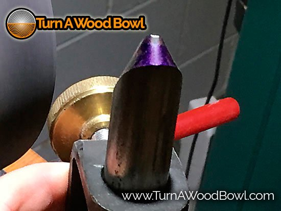 Bowl Gouge Sharpening Techniques Tip Only Contact