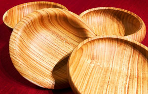 Quarter Sawn Wood Bowl