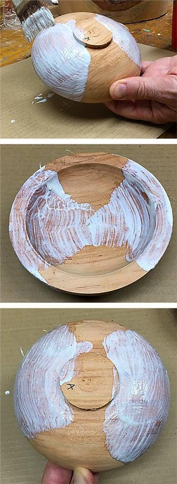 Drying Green Wood Bowls Sealing End Grain