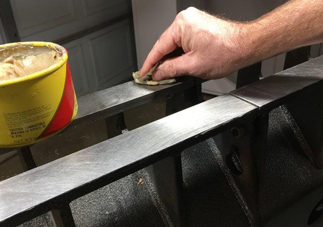 Wood Lathe Maintenance Paste Wax Ways Rails