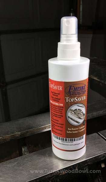Wood Lathe Maintenance Rust Remover