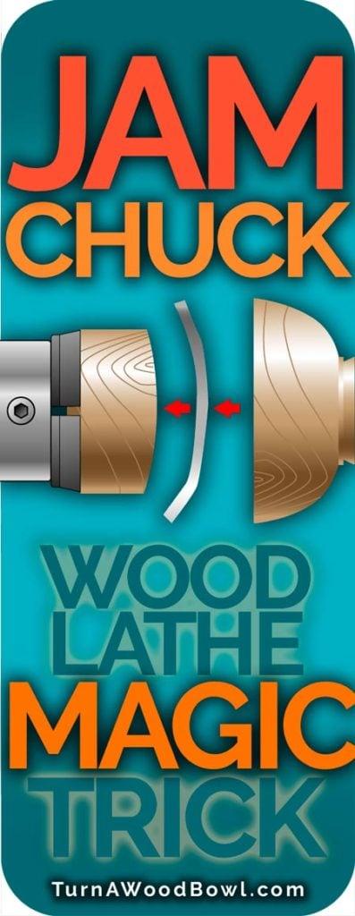 Jam Chuck Wood Lathe Magic Trick