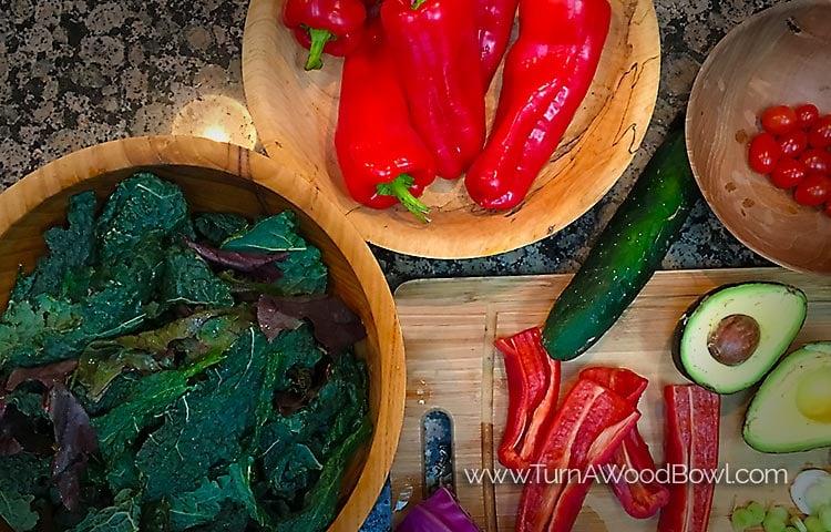Salad Bowl Finish - Food Safe? Surprise - 3 Safe Options