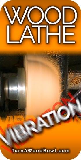 Wood Lathe Vibration Pinterest Image