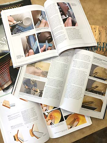 Woodturning Books Page Details