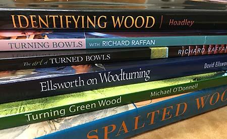 Woodturning Books Spine Details