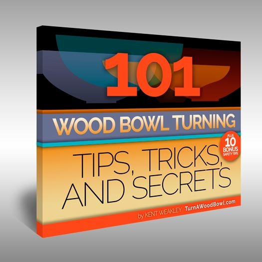 101 Wood Bowl Turning Tips eBook Cover Art