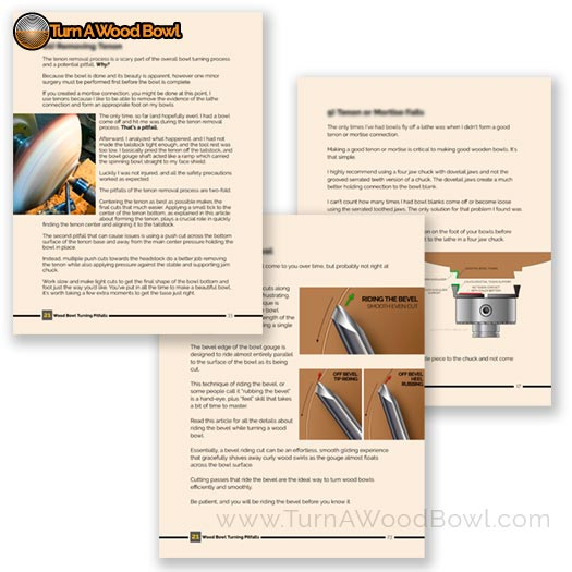 21 Wood Bowl Turning Pitfalls How To Avoid Them eBook Sample Pages