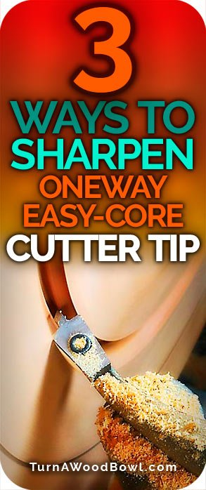 3 Ways Sharpen Oneway Easy Core Cutter Tip
