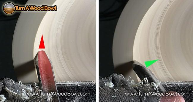 Bowl Gouge Flute -Direction