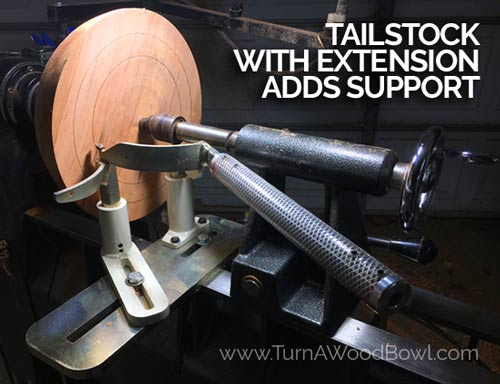 Oneway Coring System Easy Core Tailstock support