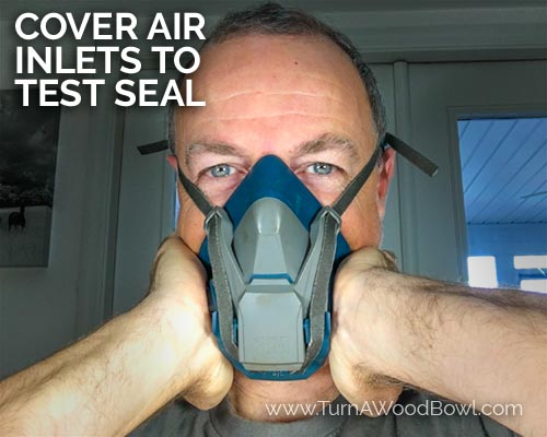 Respirator Cleaning Air Inlet Seal Test