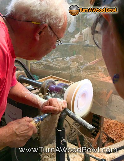 Woodturning Mentor Danny Hoffman