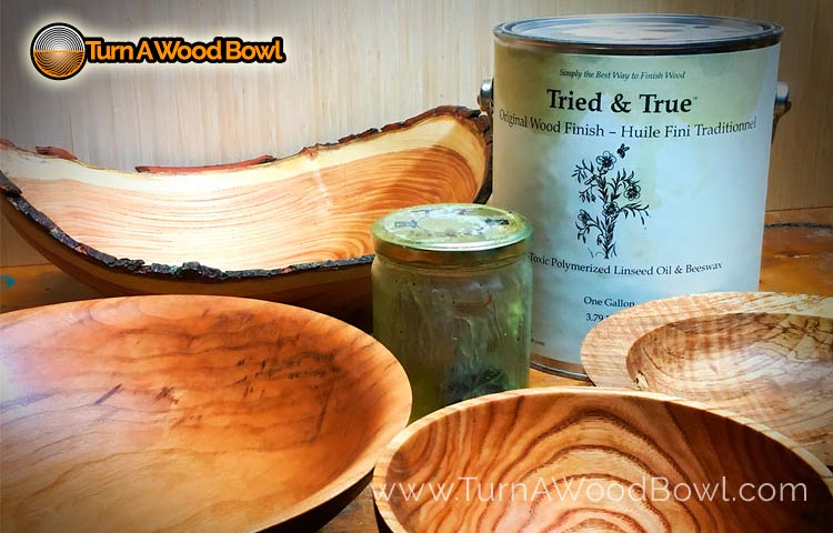 Food Safe Wood Finish Tried and True Linseed Oil and Bees Wax