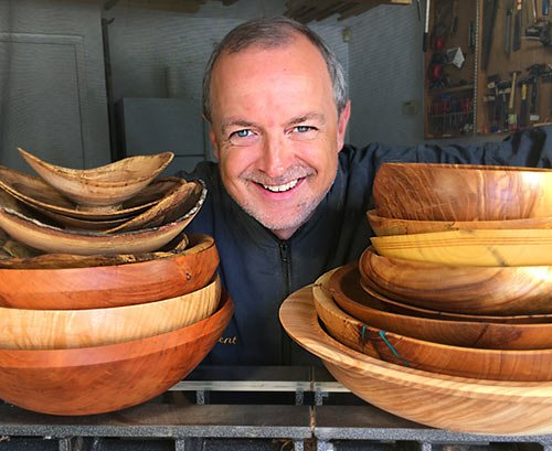 About Kent Weakley Turning Wood Bowls And How I Started