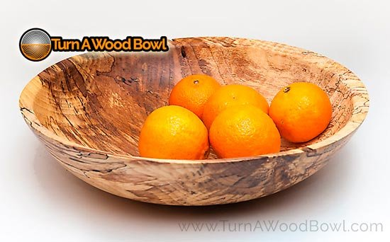 My Favorite Food Safe Wood Finish on a Spalted Hickory Bowl