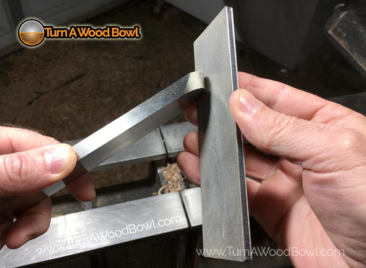 Round Nose Scraper Honing