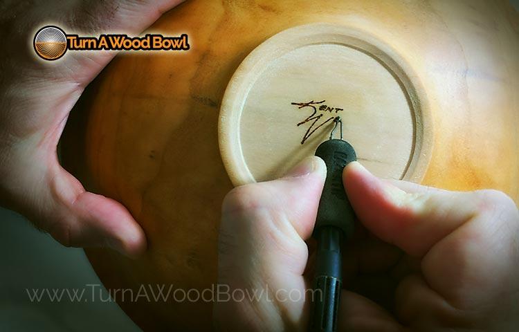 Signed Wooden Bowls