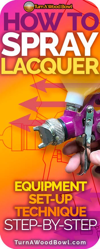 Spray Lacquer how to equipment set up use
