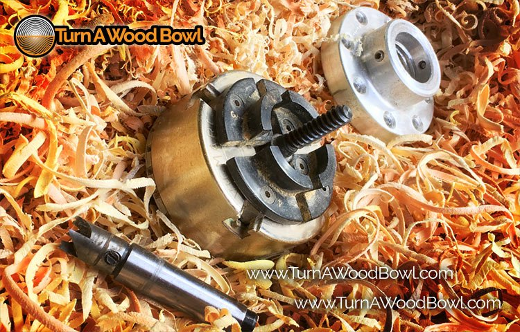 Three Ways Attach Wood Blank To Lathe