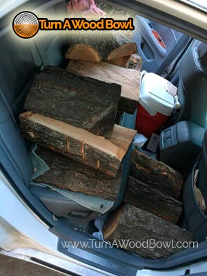 Traveling With Free Wood Car Backseat