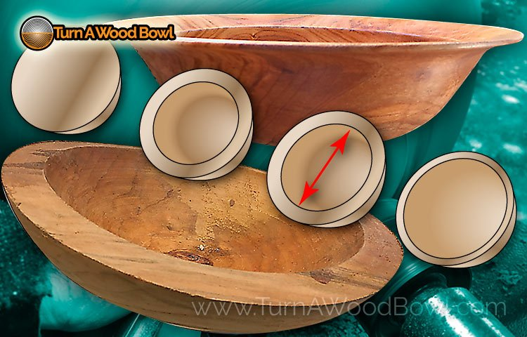 Twice Turning Wood bowls start finish how to
