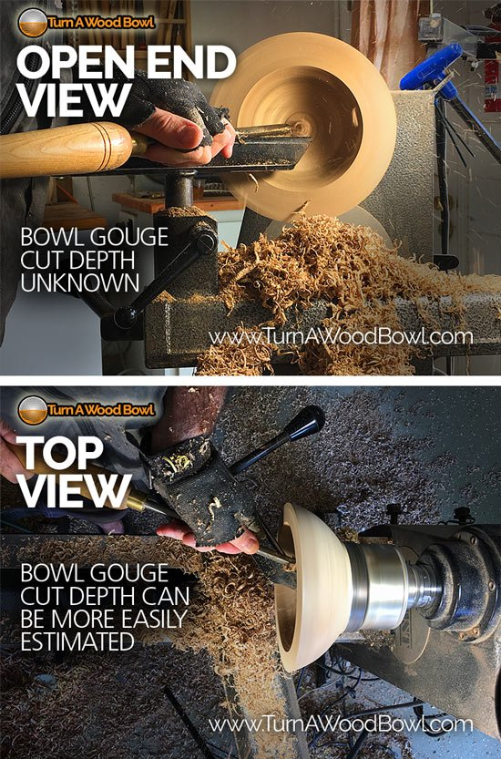 Wall Thickness Point of View Wood bowl Turning