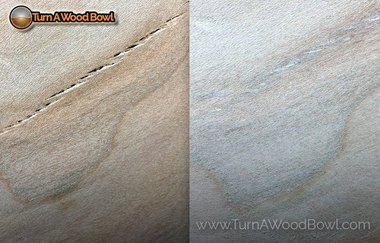 Wood Bowl Crack Fix Glue Technique