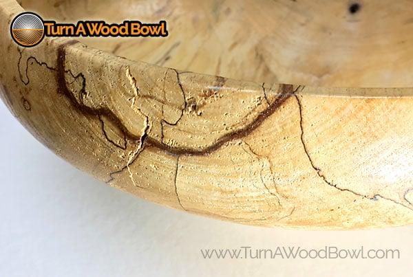 Wood Bowl Repair Separated Crack