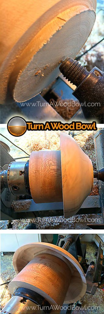 Wood Bowl Tenon removal jam chuck