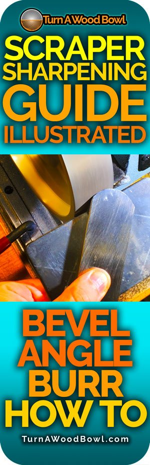 Scraper Sharpening Bevel Burr Angle How To