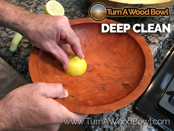 Wood Bowl Care Deep Clean