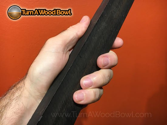 Real Ebony Wood Example