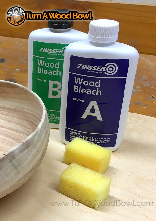 Two-Part Wood Bleach Product