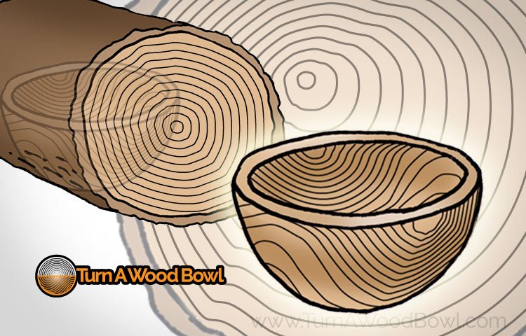 Woodturning Bowl Turning Grain Orientation