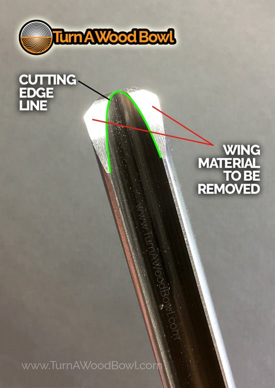Bowl Gouge Wing Profile Ground Stage