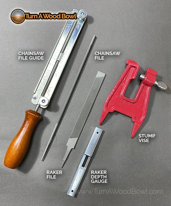 Chainsaw Blade Sharpening Tools