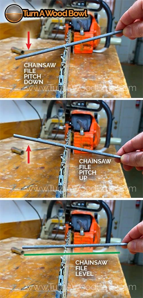 Chainsaw Sharpen File Level