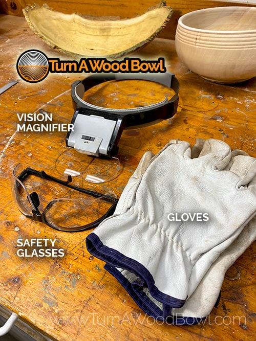Chainsaw Sharpening Safety Gear