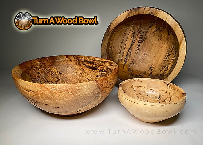 Spalted Wood Bowls Example