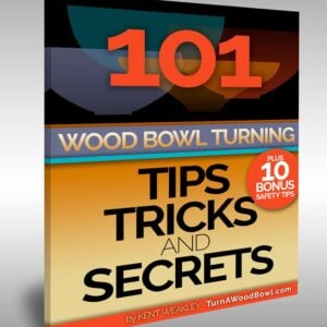 101 Wood Bowl Turning Tips Secrets eBook Cover Art