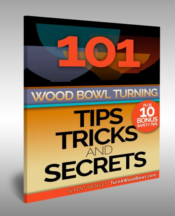 101 Wood Bowl Turning Tips Secrets eBook Cover Art